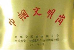护理部荣获中华全国妇女
